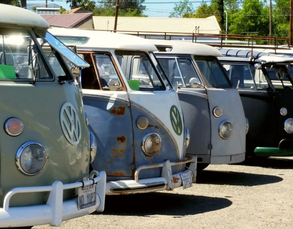 VW Buses Ruled the Day at Cool April Nights 2017
