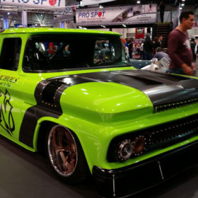 Older-Model Chevy Truck