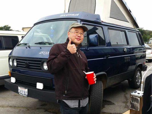 Ben Tan at Burning Van