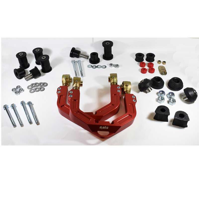 Set of 4 Front Upper Suspension Control Arm Bushings Febi For Volkswagen Vanagon